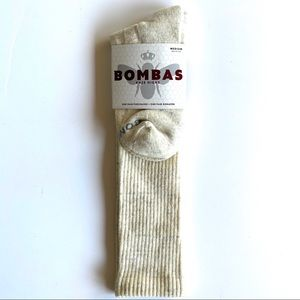 🆕 NWT Bombas Cream Fleck Knee High Socks